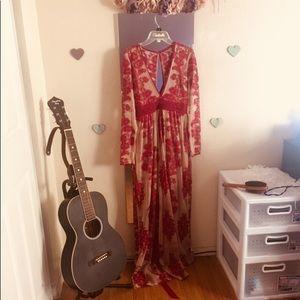 ALTERED for Love & lemons Temecula dress